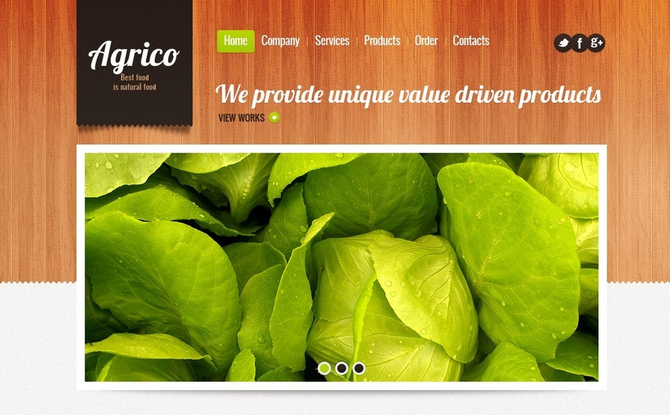 Agriculture Responsive Website Template New Screenshots BIG