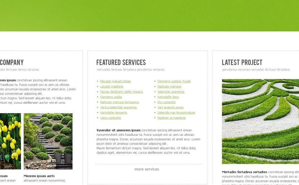 Landscape Design Website Template New Screenshots BIG