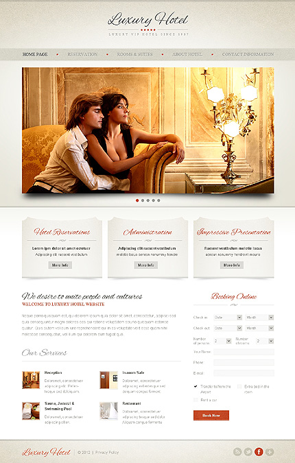 Website Template #38810