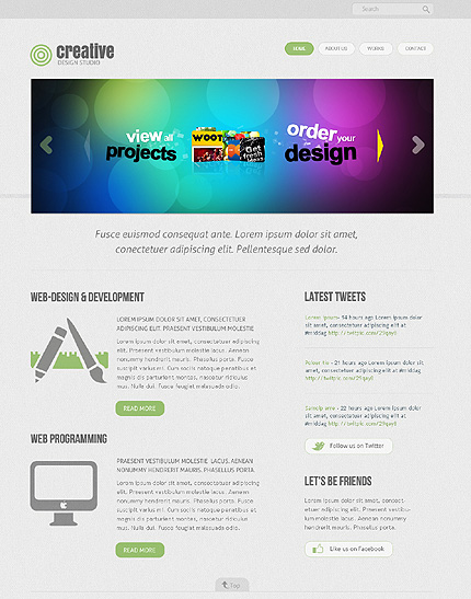 Website Template #38815