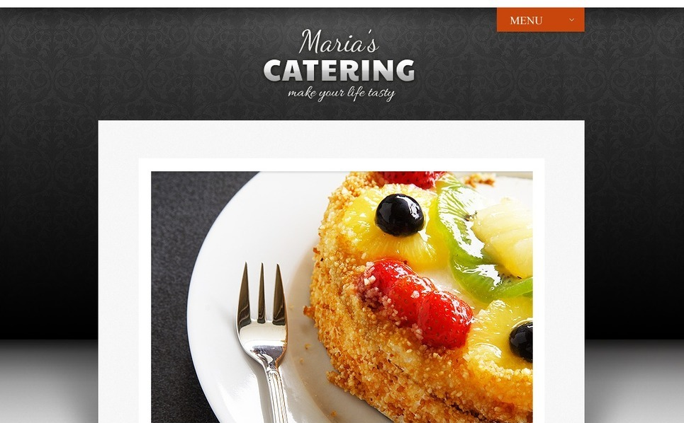 Catering Flash Template New Screenshots BIG