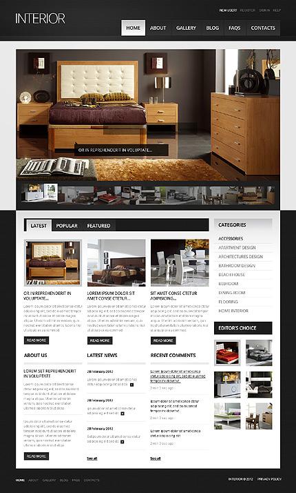 Interior - Interior Design Drupal Template