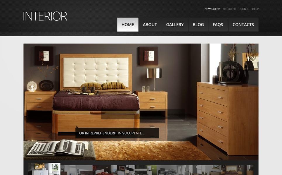 Interior Design Drupal Template New Screenshots BIG