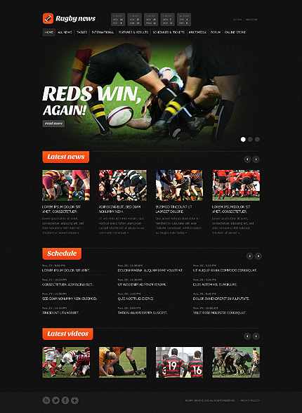 Website Template #38865