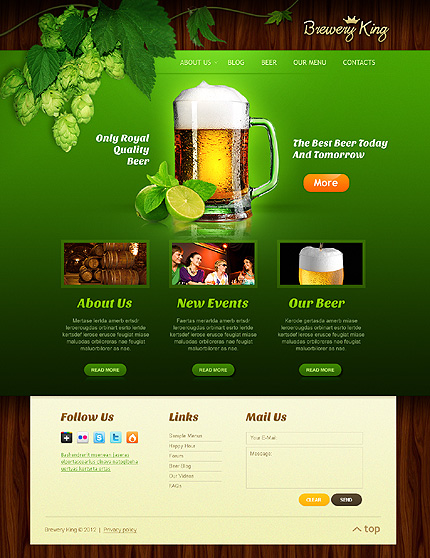 Website Template #38867