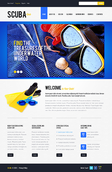 Website Template #38870