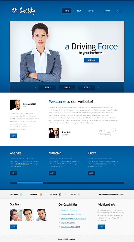 Website Template #38872