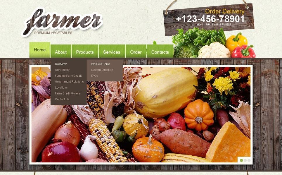 Farm Flash CMS Template New Screenshots BIG