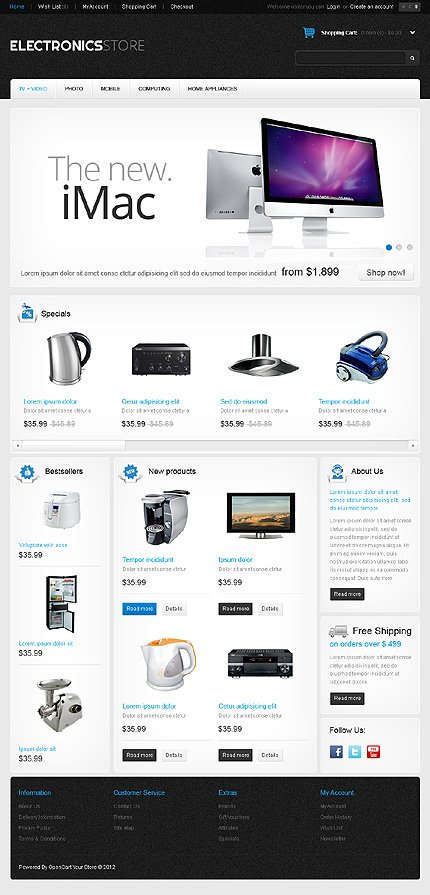 Website Template #38888