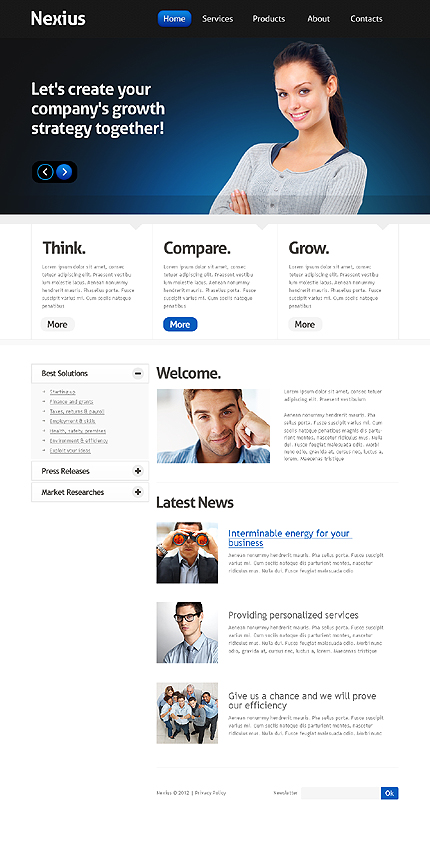 Website Template #38898