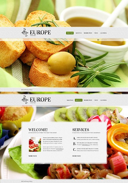 Website Template #38912