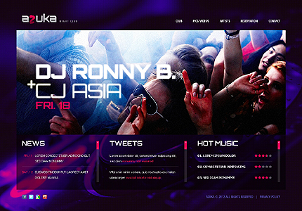 Website Template #38915