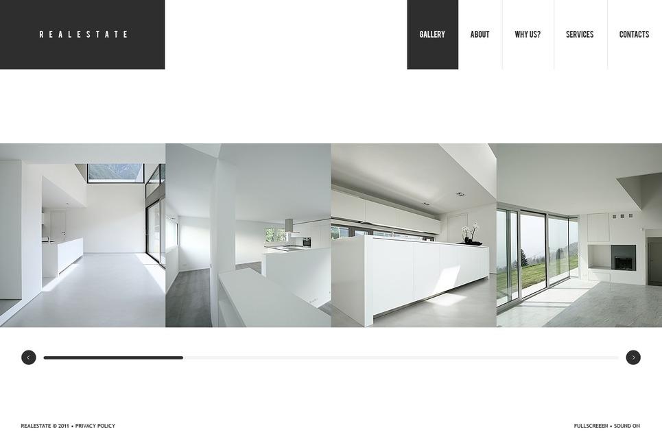 Real Estate Facebook Flash CMS Template New Screenshots BIG