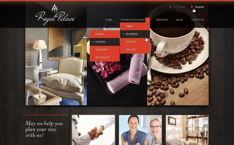 Hotels Joomla Template New Screenshots BIG