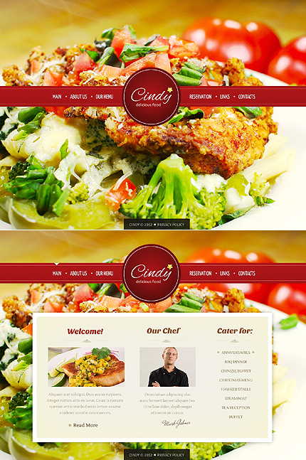 Website Template #38927