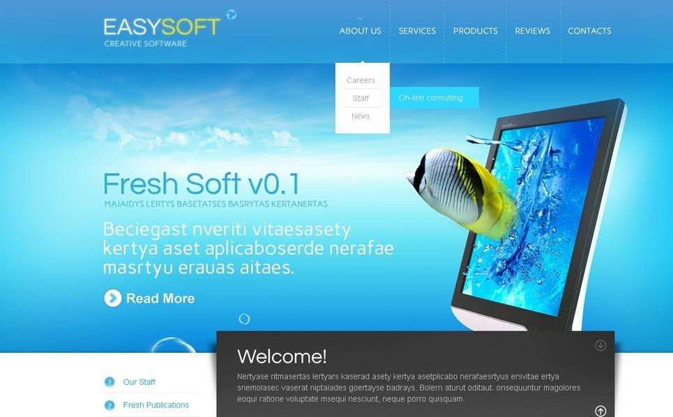 Software Company WordPress Theme New Screenshots BIG