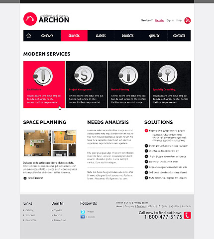 Website Template #38948