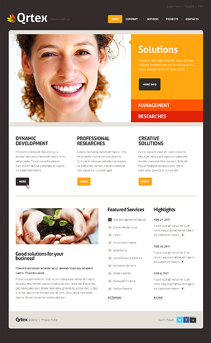 Website Template #38967