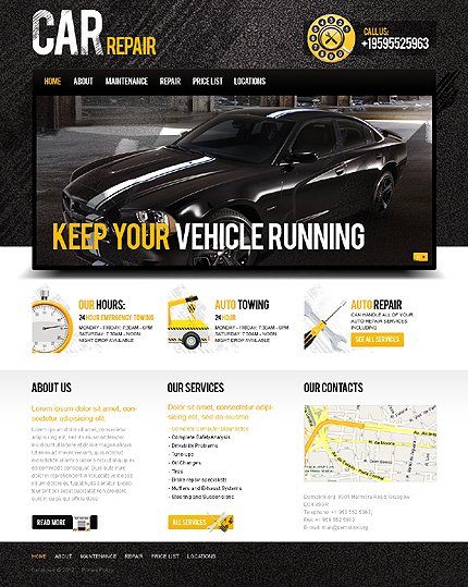 Website Template #38972