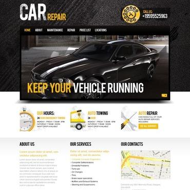 Car Repair Website Template