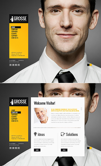 Website Template #38981