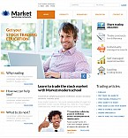 Stretched Flash CMS Theme #38992