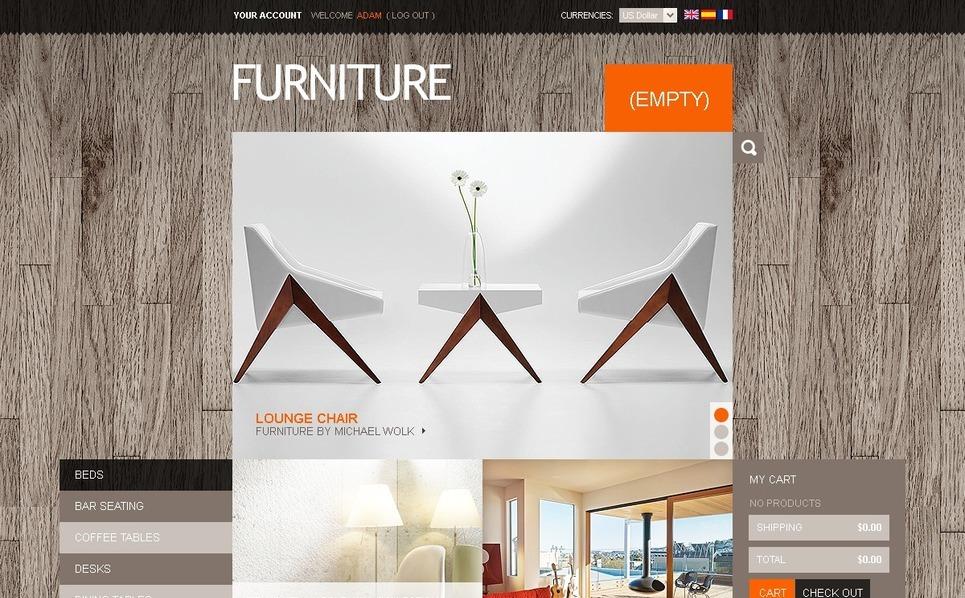 Furniture online PrestaShop Theme New Screenshots BIG
