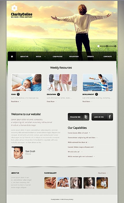 Website Template #39008