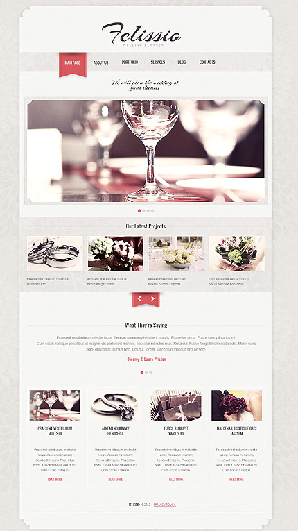 Website Template #39012
