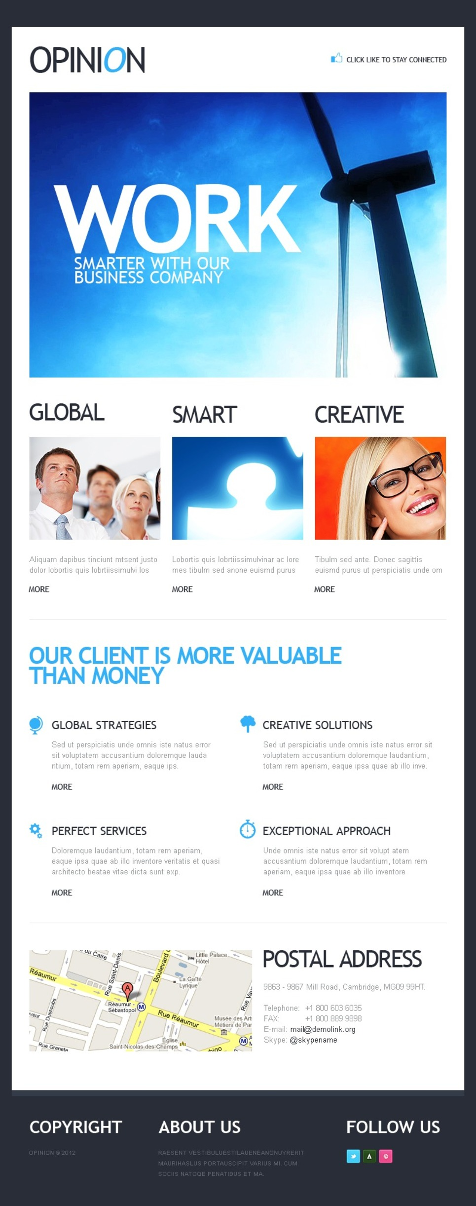 Business Facebook Template New Screenshots BIG
