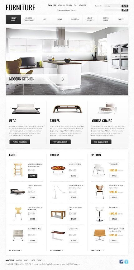 Website Template #39021