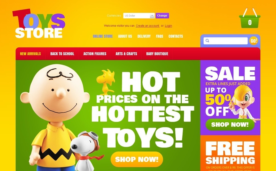 Toys for Beloved Kids VirtueMart Template New Screenshots BIG