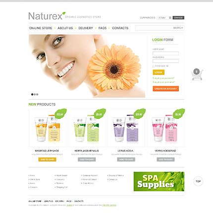 Website Template #39023