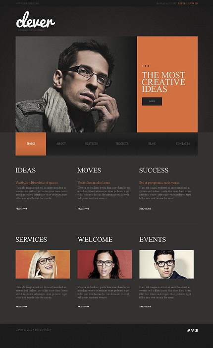Website Template #39032