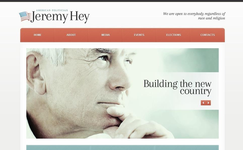 Political Candidate WordPress Theme New Screenshots BIG
