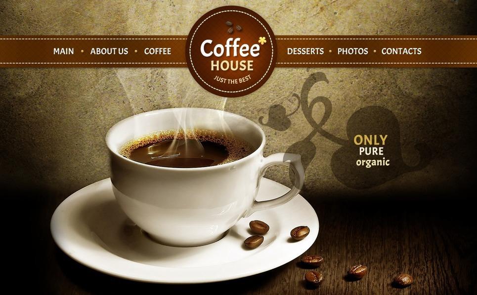 Coffee Shop Joomla Template New Screenshots BIG