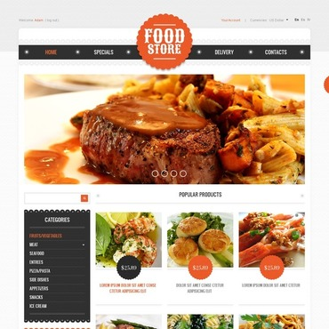 Free food template free website templates for free download about free food template free website templates for free download about 22 free website templates pronofoot35fo Gallery