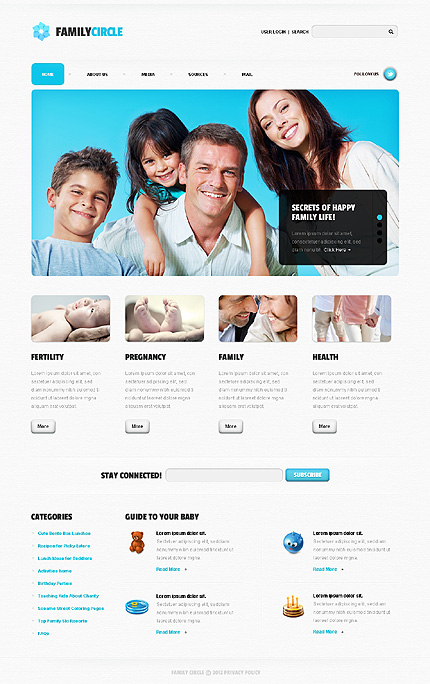 Website Template #39061