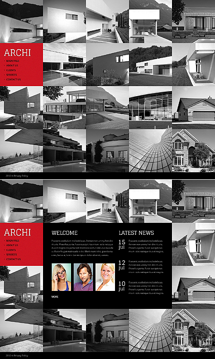 Website Template #39063