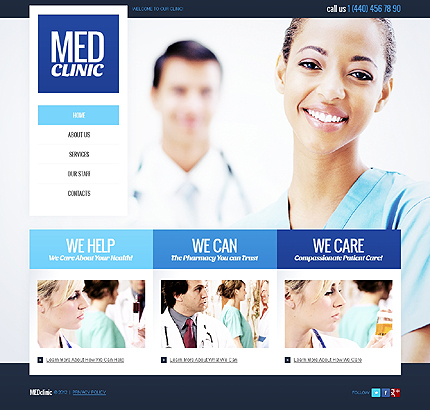 Website Template #39067