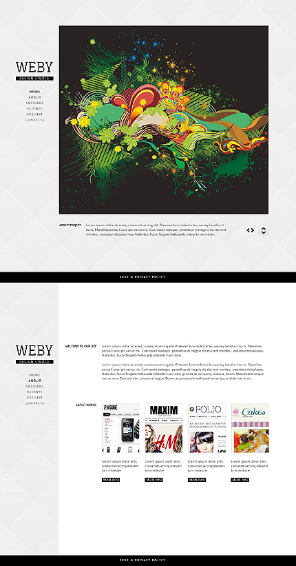 Website Template #39069