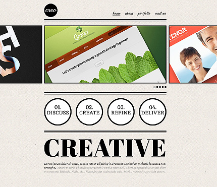 Website Template #39072
