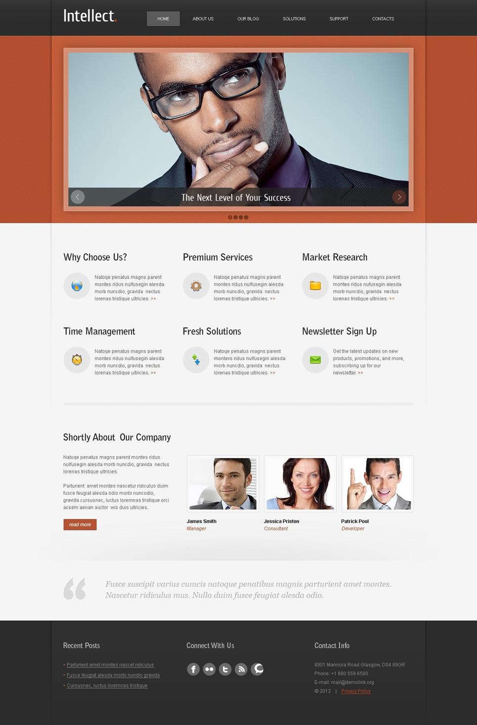 Business Responsive WordPress Theme New Screenshots BIG