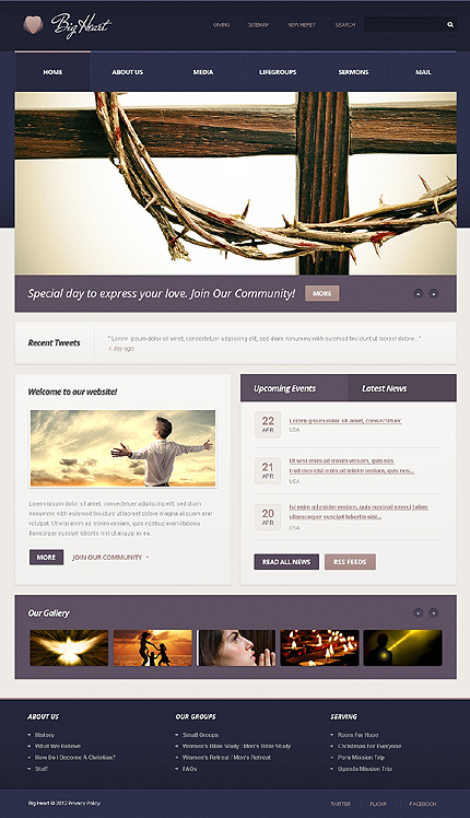 Website Template #39079