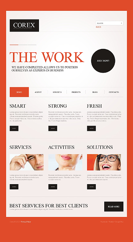 Website Template #39080