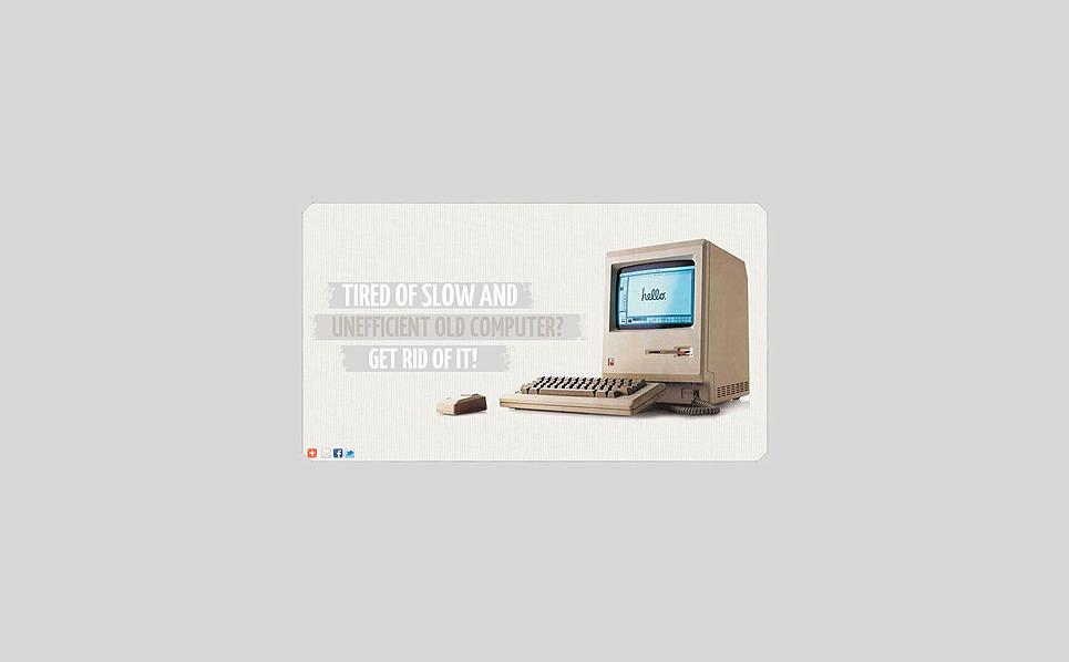 Computer Store Facebook Template New Screenshots BIG