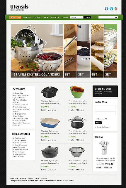 Website Template #39084