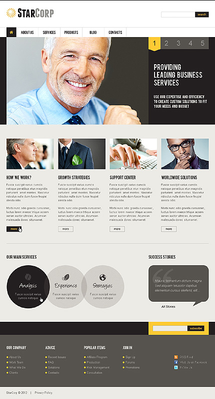 Website Template #39093