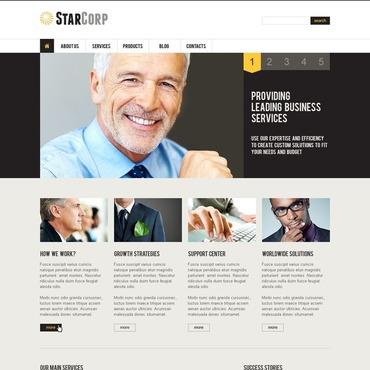Management Company Joomla Template