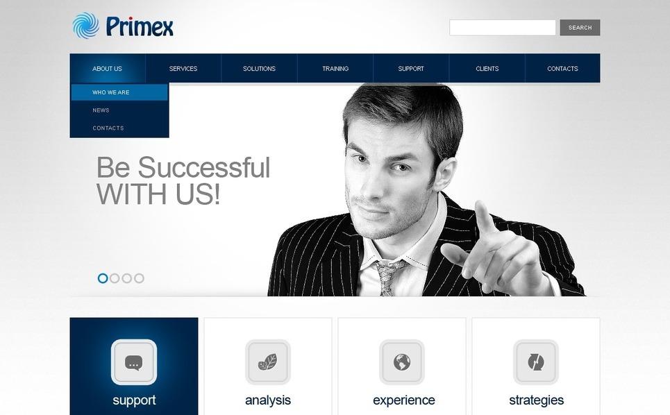 Business Responsive Website Template New Screenshots BIG